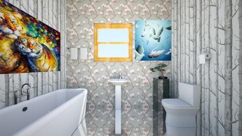 modern - Modern - Bathroom - by SACHIN BARUPAL