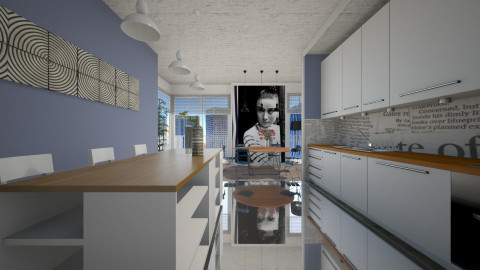 Seasons - Eclectic - Kitchen - by Lucii