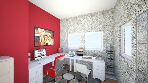 BOY - Vintage - Bedroom - by Simonatt