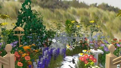 Garden Path - Country - Garden - by PomBom