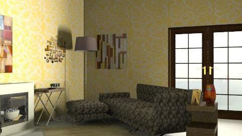 living room - Retro - Living room - by Glendyx