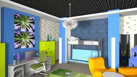 Wow room2 - Bedroom - by nesta