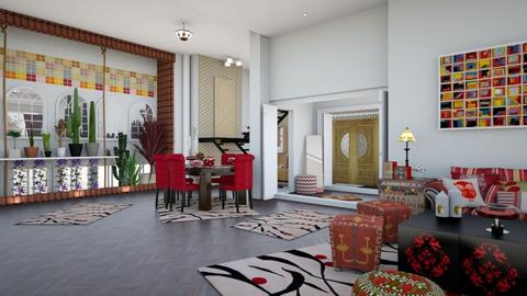 home - Modern - Living room - by nat mi