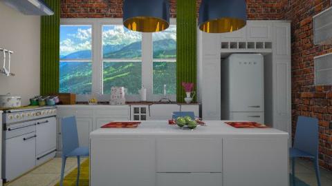 exelixis kitchen - Modern - Kitchen - by vesperart