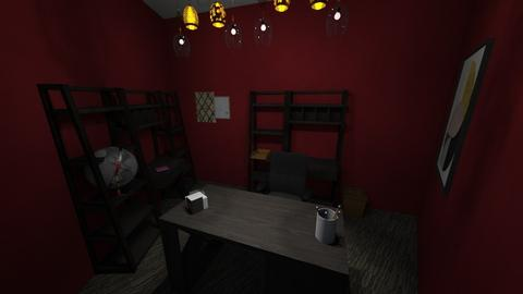 Small corner office  - Modern - Office - by Cat77v