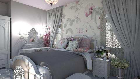 shabby chic bedroom - Bedroom - by kisi mja