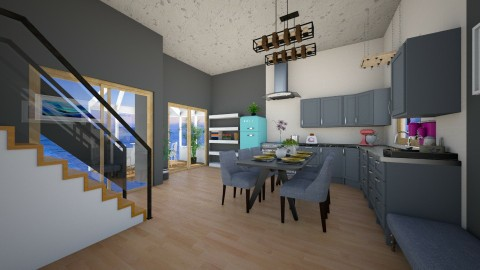 simple decorationkitchen  - Kitchen - by eleonoraxruc