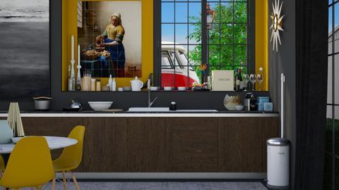 Modern Kitchen Dining - Modern - Kitchen - by HenkRetro1960