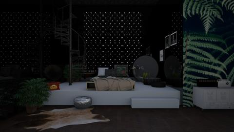 Teenage Bedroom 1 - Bedroom - by RoomstylerNona