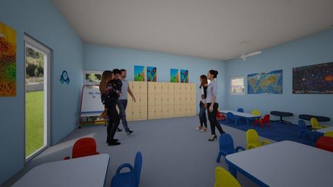 Kindrgarden class room - by natliner