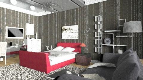 BB - Modern - Bedroom - by moonissa
