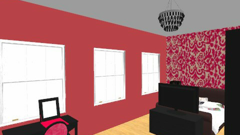 one small room - Modern - Living room - by Caitlin Johnston
