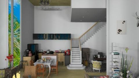 Beach Home 2 - Living room - by annasashan610