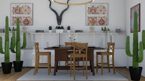Arizona - Rustic - Dining room - by millerfam