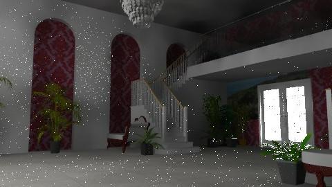 BallRoom - Feminine - Living room - by oscalora