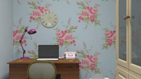study - Feminine - Office - by flobelly