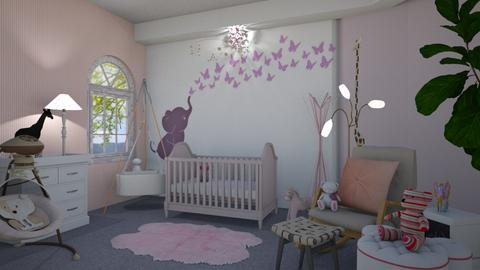 Nursery  - Kids room - by Sue Bonstra