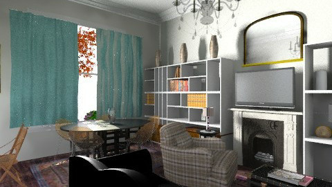 gloucester - Living room - by cleyenne