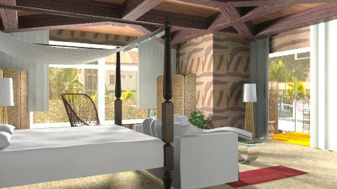 inside - Rustic - Bedroom - by APInteriors
