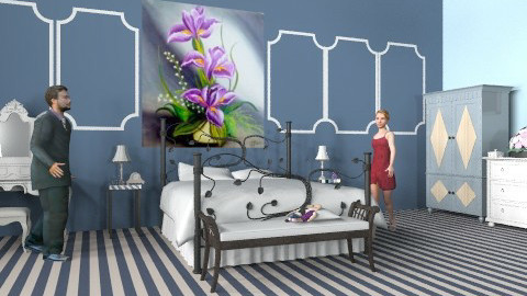 Bed - Eclectic - Bedroom - by health