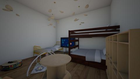 Kinderslaapkamer - Kids room - by SilkeS1