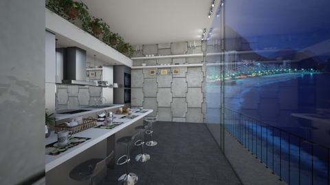 Cobertura Cozinha - Glamour - Kitchen - by Mariesse Paim