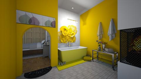 Yellow Bathing - Bathroom - by kannbosse