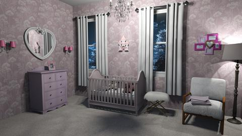 Baby Nursery - Bedroom - by lovedsign