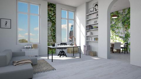 office - Modern - Living room - by tolo13lolo