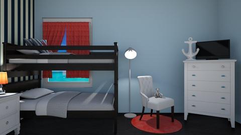 Sailor bedroom 4 the kids - Classic - Kids room - by kyramargarete19