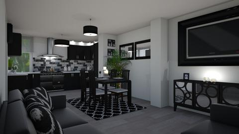 Dublin Eire Apartment - Kitchen - by creato