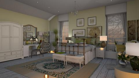 Shabby BR - Bedroom - by zarky