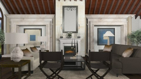 Hill Country Elegance - Classic - Living room - by JordanLane
