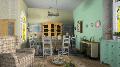 Grandmas House2 - Country - Garden - by milyca8
