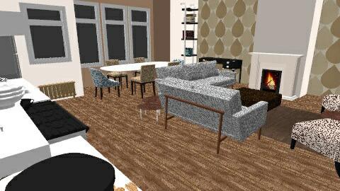 Studio Neutral - Feminine - Living room - by JesWithOneEss