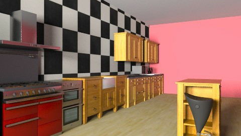 kitchen  - Classic - Kitchen - by lunnahermione