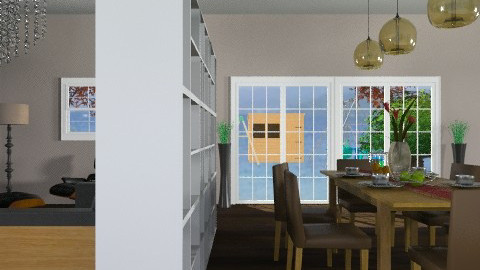 Dining Room4 - Modern - Dining room - by tanujaw