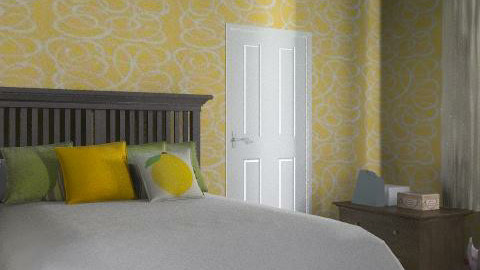Yellow Bedroom - Minimal - Bedroom - by JuicyCouture