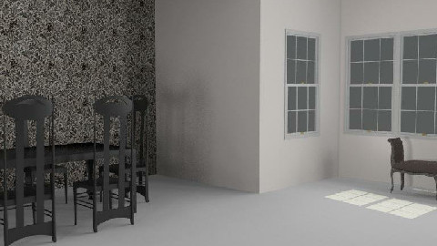 My Room of the hell - Dining Room - by Esnach