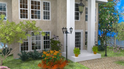Frontyard - Classic - Garden - by Bibiche