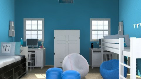 Boys' room - Minimal - Bedroom - by jasperhale