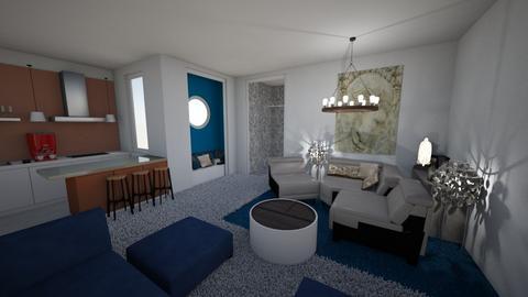 Studio Meditariano II - Eclectic - Living room - by Daria Marienko