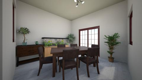 Dining peace - Dining room - by Blueflamingo