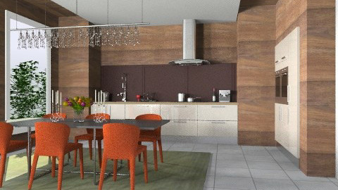 Cook & Dine (Fine) - Glamour - Dining room - by 3rdfloor