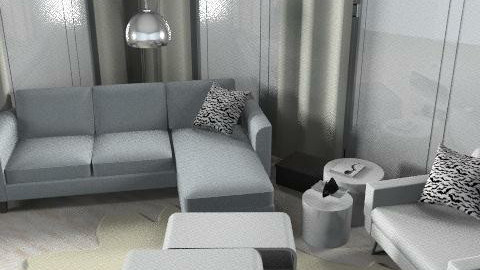 very modern house - Minimal - Living room - by hennievanhennie