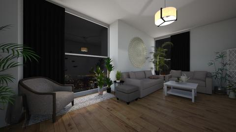 cosy greenery - Modern - Living room - by tappatron