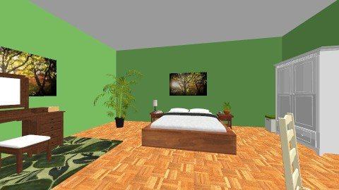 First Atempt - Modern - Bedroom - by Fiona98