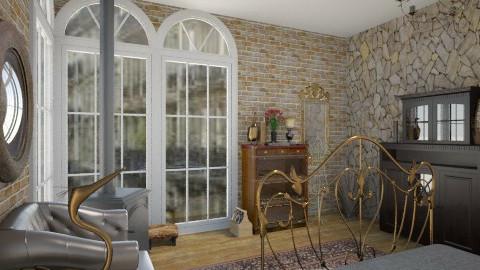 Bronze - Rustic - Bedroom - by Jade w