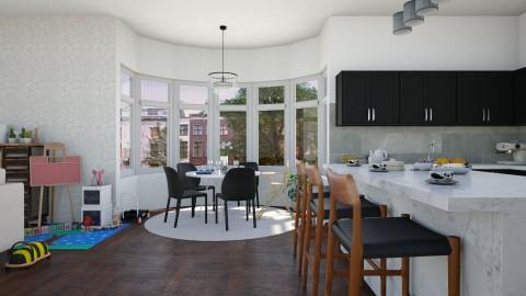 Family kitchen - Modern - Kitchen - by martinabb