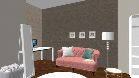 New Setting - Feminine - Living room - by tayatitaya